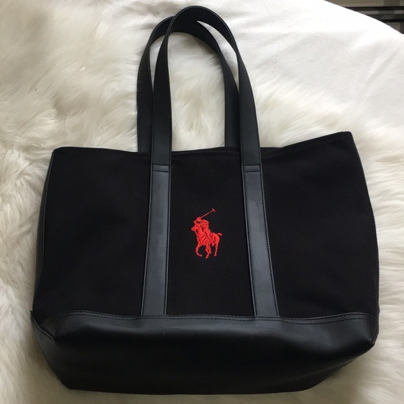 155cc255dbdc Polo Ralph Lauren tote bag EUC. M 5bd8b5a6619745ca39ed7a38